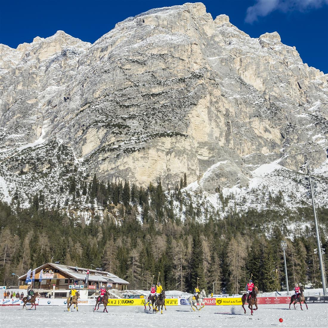 Polo Top Winter Polo Tournament in CORTINA Polo Italy byBandion 1