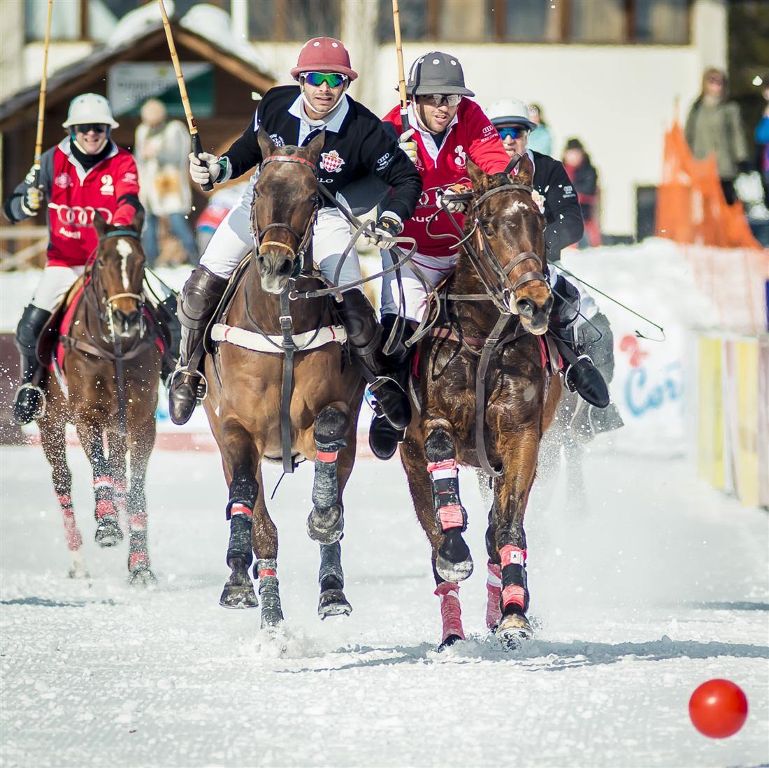 Polo Top Winter Polo Tournament in CORTINA Polo Italy byBandion 5