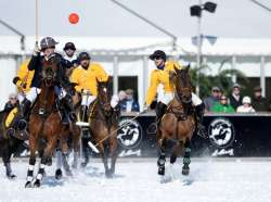 The Stars, Facts, Figures of St Moritz Snow Polo